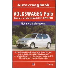 Volkswagen Polo Vraagbaak P. Olving  Benzine/Diesel Kosmos 99-01 nieuw   ISBN 90-215-8124-8 Nederlands