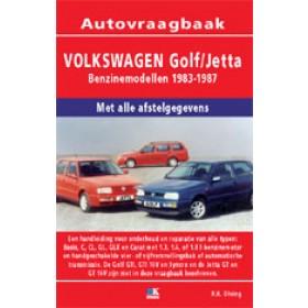 Volkswagen Golf 2/Jetta Vraagbaak P. Olving  Benzine 1983-1987 nieuw ISBN 978-90-2153-399-5 Nederlands 1983 1984 1985 1986 1987