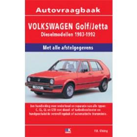 Volkswagen Golf 2/Jetta Vraagbaak P. Olving  Diesel 1983-1992 nieuw ISBN 978-90-2153-389-6 Nederlands 1983 1984 1985 1986 1987 1988 1989 1990 1991 1992