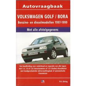 Volkswagen Golf 4 / Bora Vraagbaak P. Olving  Benzine/Diesel 1997-1999 nieuw ISBN 978-90-8572-206-9 Nederlands 1997 1998 1999