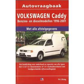 Volkswagen Caddy Seat Inca Vraagbaak P. Olving  Bedrijfswagen 1996-2001 nieuw ISBN 978-90-2153-752-8 Nederlands 1996 1997 1998 1999 2000 2001