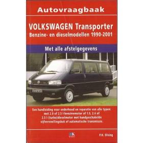 Volkswagen Transporter Vraagbaak P. Olving benzine 2.0/2.5 diesel 1.9/2.4/2.5 Bedrijfswagen Kluwer 90-01 nieuw   ISBN 90-215-9900-7 Nederlands