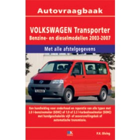 Volkswagen Transporter T5 Vraagbaak P. Olving 2003-2007 nieuw ISBN 978-90-8572-097-3 Nederlands 2003 2004 2005 2006 2007