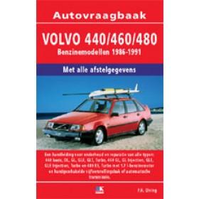 Volvo 440/460/480 Vraagbaak P. Olving  Benzine Kluwer 86-91 nieuw   ISBN 90-215-3409-6 Nederlands