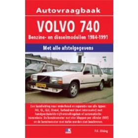 Volvo 740 Vraagbaak P. Olving  Benzine/Diesel Kluwer 84-91 nieuw   ISBN 90-201-2895-7 Nederlands