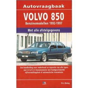 Volvo 850 Vraagbaak P. Olving 2.0 / 2.5 / 16V (GEEN T5) Benzine Kluwer 92-97 nieuw   ISBN 90-201-2987-2 Nederlands
