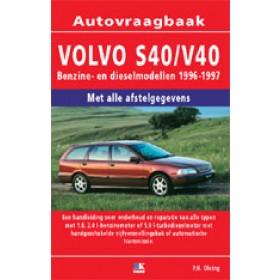 Volvo S40/V40 Vraagbaak P. Olving  Benzine/Diesel Kluwer 96-97 nieuw   ISBN 90-201-2990-2 Nederlands