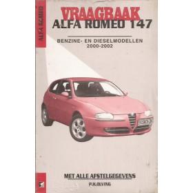 Alfa Romeo 147 Vraagbaak P. Olving  Benzine/Diesel 2000-2002 nieuw ISBN 978-90-2153-577-7 Nederlands 2000 2001 2002