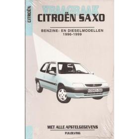 Citroen Saxo Vraagbaak P. Olving  Benzine/Diesel Kluwer 96-99 nieuw   ISBN 90-215-8555-3 Nederlands
