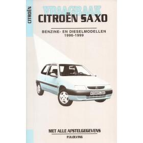 Citroen Saxo Vraagbaak P. Olving Benzine/Diesel Kluwer 1996-1999 nieuw ISBN 90-215-8555-3 Nederlands 1996 1997 1998 1999
