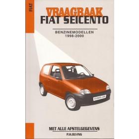 Fiat Seicento Vraagbaak P. Olving  Benzine Kluwer 98-00 nieuw   ISBN 90-215-9922-8 Nederlands