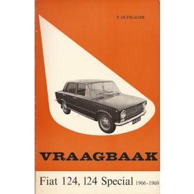 Fiat Diverse Vraagbaak P. Olyslager  Benzine Kluwer 66-69 met gebruikssporen   Nederlands