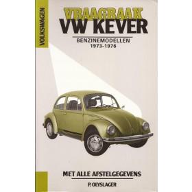 Volkswagen Kever Vraagbaak P. Olving 1200/1300 Benzine Kluwer 1973-1976 nieuw ISBN 90-201-1157-4 Nederlands