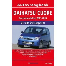 Daihatsu Cuore Vraagbaak P. Olving Benzine 2001-2004 nieuw ISBN 90-8572-233-5 Nederlands