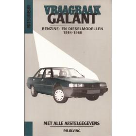 Mitsubishi Galant Vraagbaak P. Olving  Benzine/Diesel Kluwer 1984-1988 ongebruikt Nederlands 1984 1985 1986 1987 1988