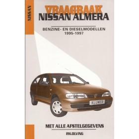 Nissan Almera Vraagbaak P. Olving  Benzine/Diesel Kluwer 1995-1997 nieuw ISBN 90-201-2974-0 Nederlands 1995 1996 1997