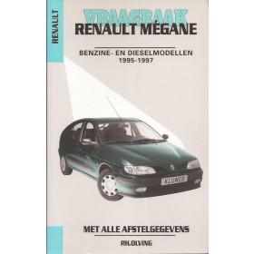 Renault Megane Vraagbaak P. Olving  Benzine/Diesel Kluwer 95-97 nieuw   ISBN 90-201-2973-2 Nederlands 1995 1996 1997