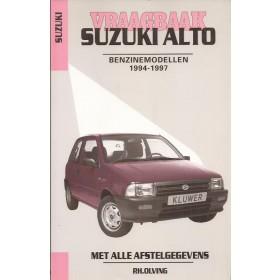 Suzuki Alto Vraagbaak P. Olving  Benzine Kluwer 1994-97 nieuw ISBN 90-201-2970-8 Nederlands 1994 1995 1996 1997