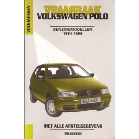 Volkswagen Polo Vraagbaak P. Olving  Benzine Kluwer 1994-1996 nieuw ISBN 90-201-2941-4 Nederlands 1994 1995 1996
