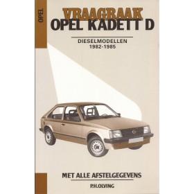 Opel Kadett D Vraagbaak P. Olving  Diesel Kluwer 1982-1985 ongebruikt Nederlands 1982 1983 1984 1985