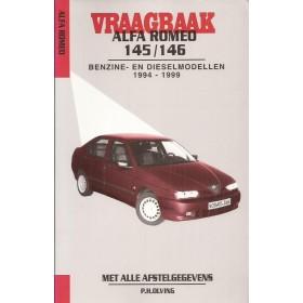Alfa Romeo 145/146 Vraagbaak P. Olving  Benzine/Diesel 1994-1999 nieuw ISBN 90-215-3230-1 Nederlands 1994 1995 1996 1997 1998 1999