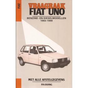 Fiat Uno Vraagbaak P. Olving  Benzine Kluwer 1983-1988 ongebruikt Nederlands 1983 1984 1985 1986 1987 1988