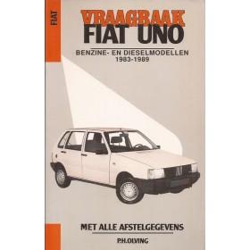 Fiat Uno Vraagbaak P. Olving  Benzine Kluwer 1983-1989 ongebruikt Nederlands 1983 1984 1985 1986 1987 1988 1989