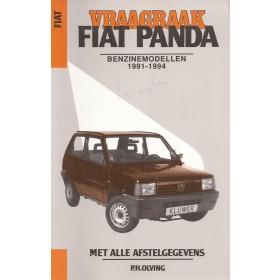 Fiat Panda Vraagbaak P. Olving  Benzine Kluwer 1991-1994 met gebruikssporen notities Nederlands 1991 1992 1993 1994