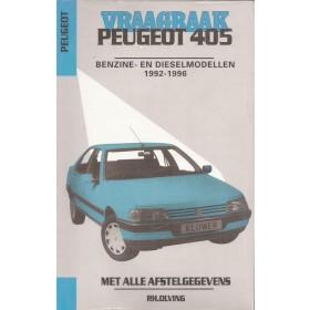 Peugeot 405 Vraagbaak P. Olving Benzine/Diesel 1992-1996 nieuw ISBN 90-201-2956-2 Nederlands 1992 1993 1994 1995 1996