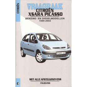 Citroen Xsara Picasso Vraagbaak P. Olving Benzine/Diesel 1999-2002 nieuw ISBN 90-215-3722-2 Nederlands 1999 2000 2001 2002