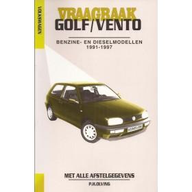 Volkswagen Golf 3 / Volkswagen Vento Vraagbaak P. Olving Geen GTi16V/VR6 Benzine/Diesel 1991-1997 nieuw ISBN 90-215-3449-5 Nederlands 1991 1992 1993 1994 1995 1996 1997
