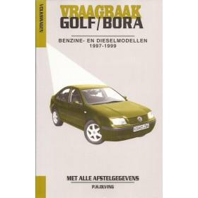 Volkswagen Golf 4 / Volkswagen Bora Vraagbaak P. Olving Benzine/Diesel 1997-1999 nieuw ISBN 90-215-8964-8 Nederlands 1997 1998 1999