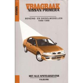Nissan Primera Vraagbaak P. Olving Benzine/Diesel 1996-1998 met gebruikssporen ISBN 978-90-2153-338-4 Nederlands 1996 1997 1998