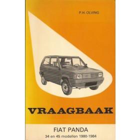 Fiat Panda Vraagbaak P. Olyslager  Benzine Kluwer 80-84 met gebruikssporen   Nederlands
