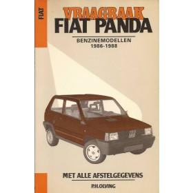 Fiat Panda Vraagbaak P. Olving  Benzine Kluwer 86-88 met gebruikssporen   Nederlands