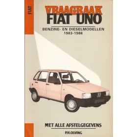 Fiat Uno Vraagbaak P. Olving  Benzine Kluwer 83-86 ongebruikt   Nederlands
