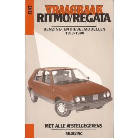 Fiat Ritmo Vraagbaak P. Olving  Benzine/Diesel Kluwer 83-88 met gebruikssporen   Nederlands