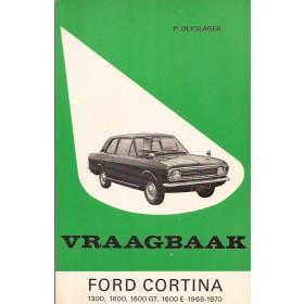 Ford Cortina Vraagbaak P. Olyslager  Benzine Kluwer 68-70 ongebruikt   Nederlands