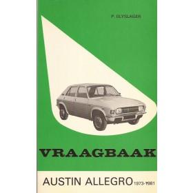 Austin Allegro Vraagbaak P. Olyslager  Benzine Kluwer 73-81 met gebruikssporen   Nederlands