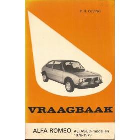 Alfa Romeo Alfasud Vraagbaak P. Olving  Benzine Kluwer 76-79 met gebruikssporen   Nederlands