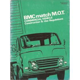 BMC M.O.T. Opbouwinstructie   Benzine Fabrikant 68 ongebruikt   Engels