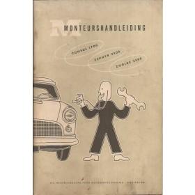 Ford Consul/Zephyr/Zodiac Monteurshandleiding   Benzine Importeur 56 met gebruikssporen service-instructies  Nederlands