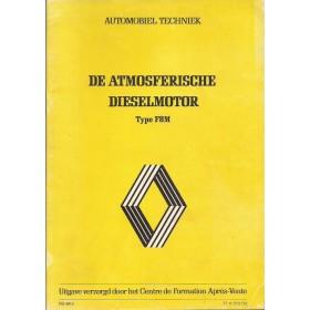 Renault F8M Werkplaatshandboek   Diesel Fabrikant 83 ongebruikt   Nederlands