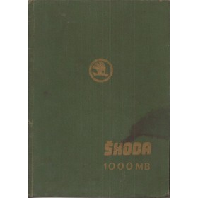 Skoda 1000MB Werkplaatshandboek   Benzine Fabrikant 64 met gebruikssporen   Engels