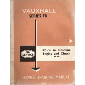 Vauxhall Victor/VX4-90 Werkplaatshandboek  Series FB Benzine Fabrikant 62 met gebruikssporen 3 delen (motor, koppeling, versnellingsbak, achteras, ophanging, remmen, stuurinrichting)  Engels