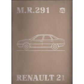 Renault 21 Werkplaatshandboek Benzine/Diesel Fabrikant 86 met gebruikssporen mechanisch gedeelte ringband volledigheid niet verifieerbaar Nederlands