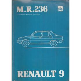 Renault 9 Werkplaatshandboek Benzine/Diesel Fabrikant 81 ongebruikt mechanisch gedeelte  Nederlands