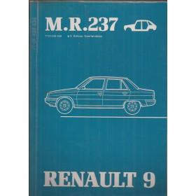 Renault 9 Werkplaatshandboek Benzine/Diesel Fabrikant 81 ongebruikt carrosserie Nederlands