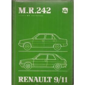 Renault 9/11 Werkplaatshandboek Benzine/Diesel Fabrikant 85 ongebruikt mechanisch gedeelte  Nederlands
