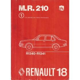 Renault 18 Werkplaatshandboek Benzine/Diesel Fabrikant 78 met gebruikssporen mechanisch gedeelte Nederlands